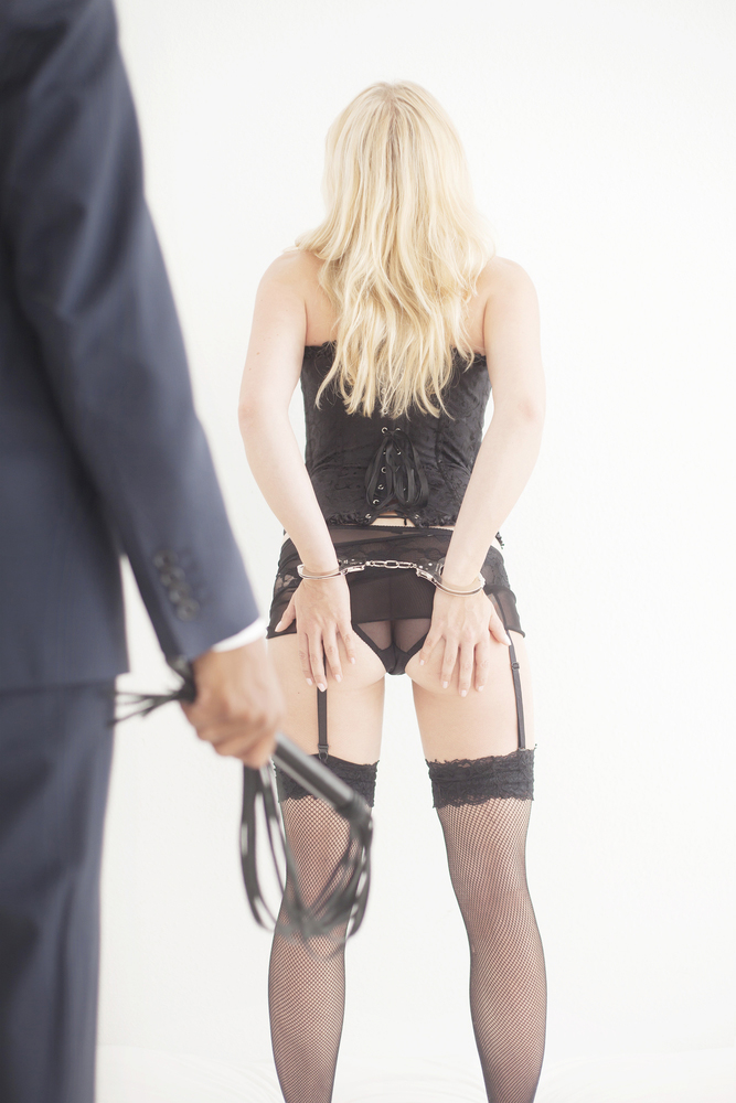 Female Submissive Bound And Ready For Training With Dominant Man